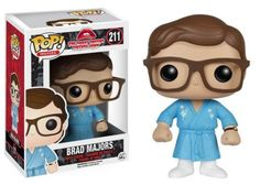 The Rocky Horror Picture Show Brad Pop! Vinyl Figure measures approximately 3 3/4-inches tall. #funko #collectible #popvinyl #actionfigure #toy #TheRockyHorrorPictureShow #Brad