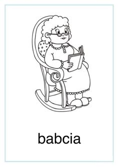 Tablice edukacyjne: rodzina do druku 7 Coloring Pages, Kindergarten, Clip Art, Classroom, Boys, Winter, People, Fictional Characters, Colouring In