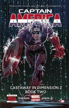 Captain America: Castaway in Dimension Z Book Two (Comic Files)