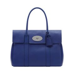 Mulberry - Bayswater in Indigo Soft Grain Leather