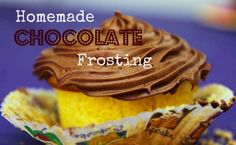 Homemade Chocolate Frosting » A Southern Fairytale