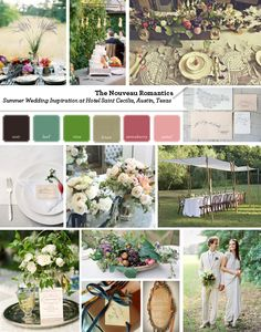 Summer Harvest Inspiration // by The Nouveau Romantics #summerwedding #harvest