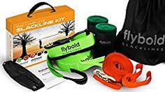 New flybold Slackline Kit Training Line Tree Protectors Ratchet Protectors Arm Trainer 57 feet Easy Set Instruction Booklet Carry Bag Complete Set Outdoor Fun Family Adults Children Kids online - Prettyclothingstyle Camping Cot, Backyard Camping, Family Camping, Camping Gear, Carry On Bag, Outdoor Recreation, Kids Online, Adult Children, Outdoor Fun