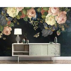 Paper Wallpaper, Home Wallpaper, Self Adhesive Wallpaper, Flower Wallpaper, Custom Wallpaper, Wallpaper Paste, Adhesive Vinyl, Designer Wallpaper, Bedroom Wallpaper