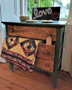 Check out the unique hand painted and handcrafted furniture pieces that are currently available from Crossroad Creations in Southeastern Ontario