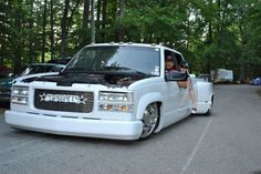 No Regrets dagged dually rolling Bagged Trucks, Trucks Only, Mini Trucks, Paradise Garage, American Muscle Cars, Custom Cars, Cars And Motorcycles, Hot Rods, Chevy