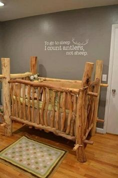 Furniture wooden baby nursery rustic furniture ideas contemporary on with regard to best crib ever would Best Crib, Everything Baby, Baby Time, Having A Baby, Baby Cribs, Future Baby, My Children, Future Children, American Children