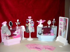 Original Vintage 1982 Barbie Dolls Dream Deluxe Department Store Play Set   eBay