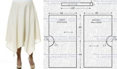 68 New Ideas Skirt Pattern Sewing Skirt Patterns Sewing, Sewing Patterns Free, Clothing Patterns, Skirt Sewing, Pattern Sewing, Coat Patterns, Pattern Drafting, Blouse Patterns, Sewing Clothes
