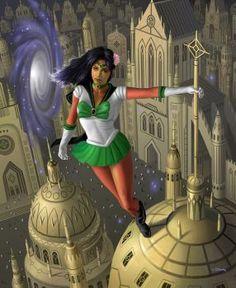 DeviantArt: More Like Sailor Scorpio by AlanGutierrezArt