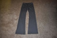 Lucy Power Max Perfect Booty Collection Gray Womens Yoga Pants Size Small S #LucyActivewear #PantsTightsLeggings