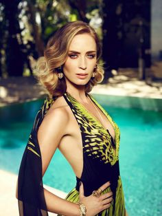 Emily Blunt Harpers Bazaar cover story by Jason Bell