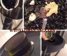 Recipe Patricia Wells' Black Olive Tapenade by Madame Thermomix - Recipe of category Sauces, dips & spreads