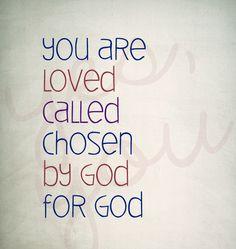by God, for God