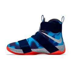 Nike Zoom LeBron Soldier 10 iD Men's Basketball Shoe