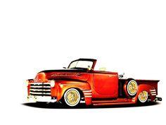 Pick Up Lowrider Car