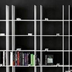 gigio Bookshelf - Miniforms #bookshelves