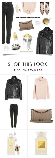 """Sunday"" by marina-volaric ❤ liked on Polyvore featuring Karl Lagerfeld, Velvet by Graham & Spencer, Monday, Topshop, Chanel, Lara, Space NK, Tom Ford and Alexander Wang"
