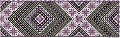 Nytt mønster til halskvarde. – Vevstua Bull-Sveen