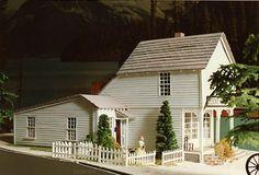 A model made by a Little House fan.
