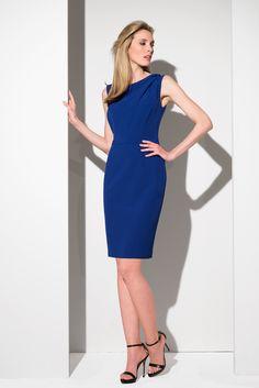 Spring 2016, High Neck Dress, Dresses For Work, Elegant, Fashion, Turtleneck Dress, Classy, Moda, Chic