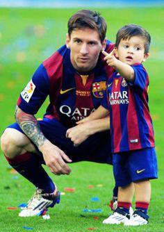 Messi And Thiago!