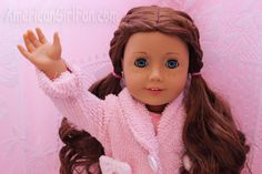 slumber party doll hairstyle!