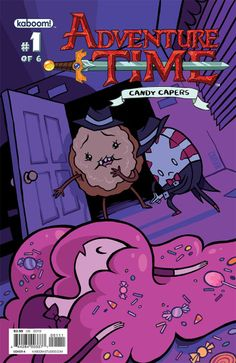 Title Announcement: Adventure Time: Candy Capers