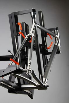 Bicycle frame jigs