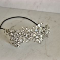 BCBG MaxAzria crystal headband Stunning Crystal headband. BCBG. Mint condition! BCBGMaxAzria Accessories Hair Accessories