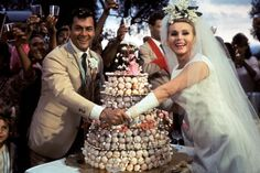 Tony Curtis Zsa Zsa Gabor in Drop Dead Darling aka Arrivederci Baby