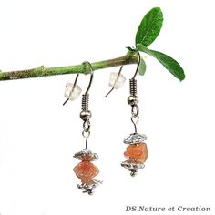 Sunstone earrings bohemian jewelry whimsical by DSNatureetCreation https://www.etsy.com/listing/242828011/sunstone-earrings-bohemian-jewelry