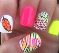 I just like the feather nail!!