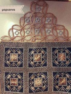 Cross Stitch Embroidery, Cross Stitch Patterns, Romanian Lace, Point Lace, Needlework, Diy And Crafts, Decorative Boxes, Crochet, Fanfiction