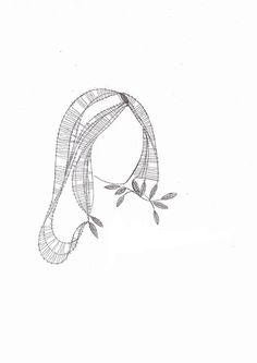 Podvinek 014 Lace Heart, Lace Jewelry, Lace Making, Bobbin Lace, Madonna, Lace Detail, Tatting, Diy And Crafts, Butterfly
