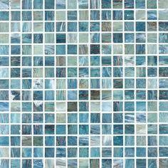 Tesserae Blends Glass Tiles (Caribbean Shore)