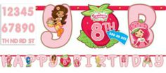 Strawberry Shortcake Letter Banner 10ft - Party City