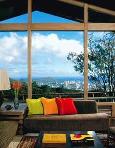 glass walls when you have a million dollar view