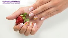 Fruity #Nails mit Holiday Tattoos by #GDN.de #nailart #naildesign #nail #summernails #trendnails #fruitnails
