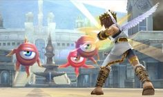 Nintendo Shows Of Kid Icarus: Uprising With Their Own Weapons Infographic