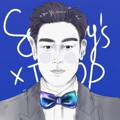 TOP x #koheinawa bowtie // for Sotheby's Event