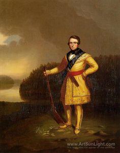 Mississippi Fisherman - George Caleb Bingham - oil painting ...