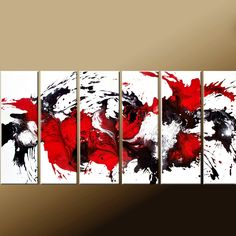 Abstract Art Paintings   Huge Custom Made to Order by wostudios, $329.00