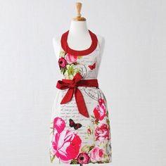 Zástěra Postcards Apron, Summer Dresses, How To Make, Contents, Postcards, Kitchens, Fashion, Moda, Summer Sundresses