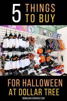 Diy Halloween House Decorations, Dollar Tree Halloween Decor, Dollar Tree Fall, Diy Halloween Costumes For Kids, Halloween Goodies, Halloween Boo, Outdoor Halloween, Halloween Design, Halloween Tricks