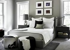 Black and White Decorations for Home - for bedroom