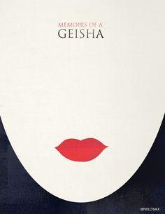 Minimalist Movie Poster - Memories of a Geisha by nelos on DeviantArt