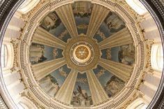 """theraccolta:  """"Interno della Cupola, Chiesa di S. Paolo, Rabat, Malta  """""""