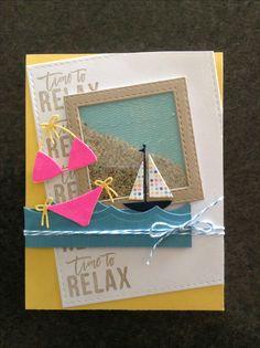 Simon Says July card kit - Hello Summer - by Cori Bailey