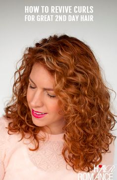 Know that it's possible to bring second-day curls back to life: | 21 Easy Second-Day Hairstyles To Try